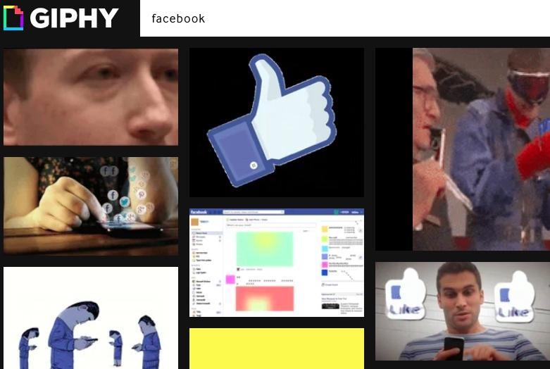 Опаньки: Facebook купит Giphy за 400 миллионов долларов